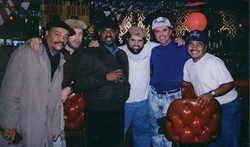 (L to R) Melvin Rhyne, Neal Chandek, Victor Campbell, Michael Sanchez, Luis Diaz, Ernie Adams