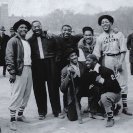 Dizzy Gillespie w/ Cab Calloway's Baseball team in Milwaukee (1937)