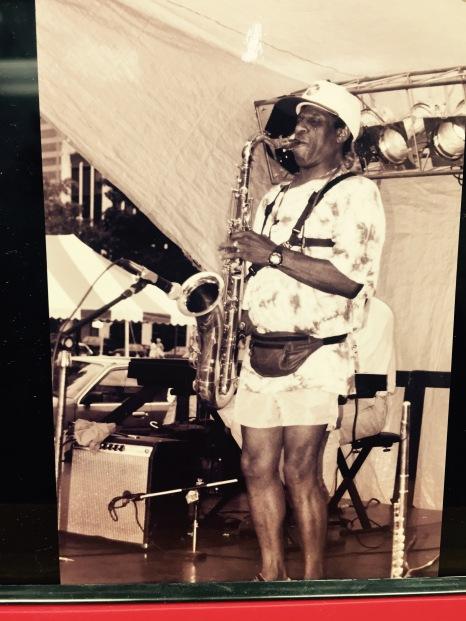 unknown saxophonist