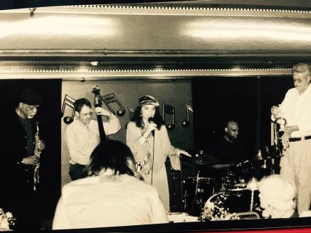 Berkeley Fudge, Hal Miller, Adekola Adedapo, Vic Campbell, Kaye Berigan at Caroline's Jazz Club