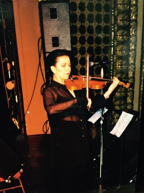 violinist Sonya Robinson