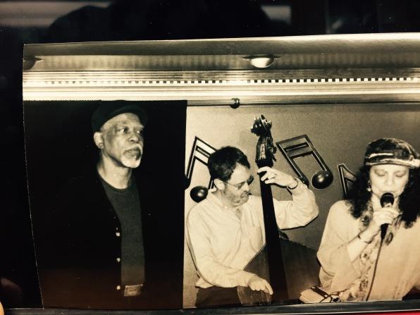 Berkeley Fudge, Hal Miller, Adekola Adedapo at Caroline's Jazz Club
