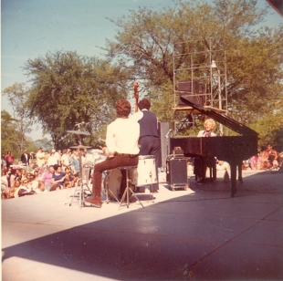 Marian McPartland - Lakefront Festival of the Arts 1972, photo via Kevin Lynch