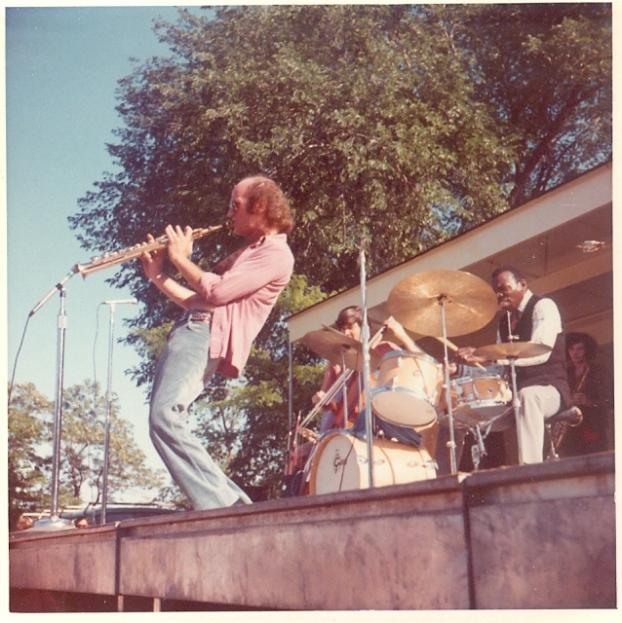 Elvin Jones Quartet - Lakefront Festival of the Arts 1972, photo via Kevin Lynch